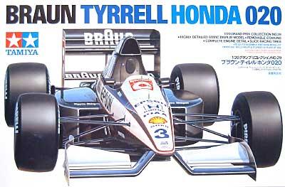 ブラウン ティレル ホンダ 020プラモデル(タミヤ1/20 グランプリコレクションシリーズNo.029)商品画像