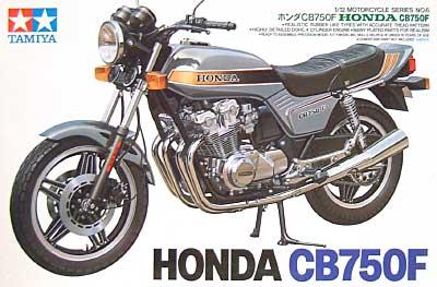 ホンダ CB750Fプラモデル(タミヤ1/12 オートバイシリーズNo.006)商品画像