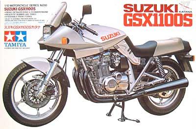 スズキ GSX1100S カタナプラモデル(タミヤ1/12 オートバイシリーズNo.010)商品画像
