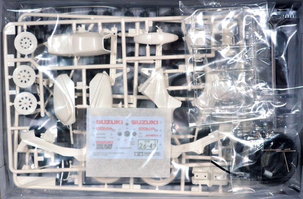 スズキ GSX750S ニューカタナプラモデル(タミヤ1/12 オートバイシリーズNo.034)商品画像_1