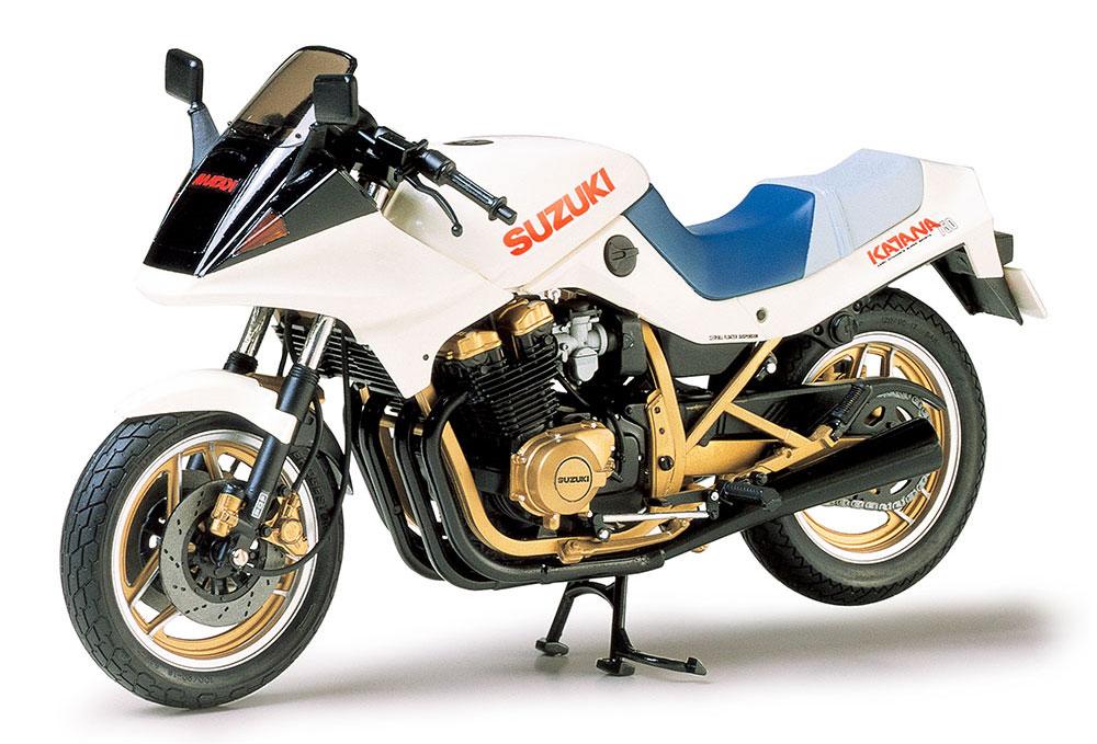 スズキ GSX750S ニューカタナプラモデル(タミヤ1/12 オートバイシリーズNo.034)商品画像_2