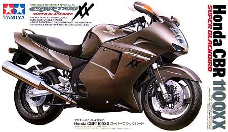 ホンダ CBR1100XX スーパーブラックバードプラモデル(タミヤ1/12 オートバイシリーズNo.070)商品画像