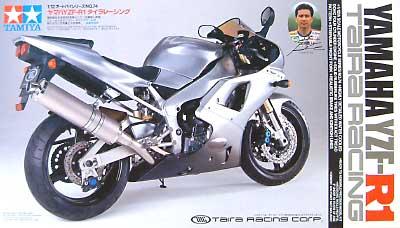 ヤマハ YZF-R1 タイラレーシングプラモデル(タミヤ1/12 オートバイシリーズNo.074)商品画像