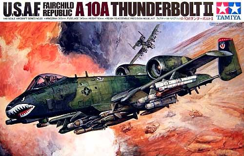 フェアチャイルド・リパブリック A-10A サンダーボルト 2プラモデル(タミヤ1/48 傑作機シリーズNo.028)商品画像