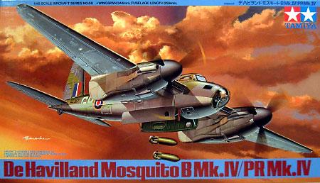 デ・ハビランド モスキート B Mk.4 / PR Mk.4プラモデル(タミヤ1/48 傑作機シリーズNo.066)商品画像