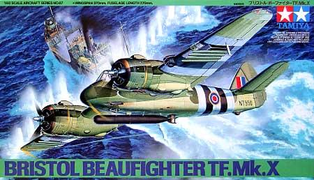 ブリストル ボーファイター TF Mk.10プラモデル(タミヤ1/48 傑作機シリーズNo.067)商品画像