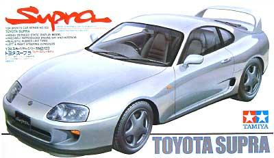 トヨタ スープラプラモデル(タミヤ1/24 スポーツカーシリーズNo.123)商品画像