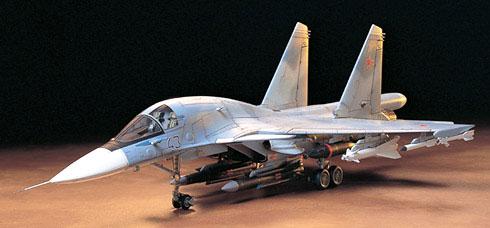 スホーイ SU-34プラモデル(タミヤ1/72 ウォーバードコレクションNo.043)商品画像