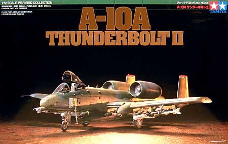 A-10A サンダーボルト 2プラモデル(タミヤ1/72 ウォーバードコレクションNo.044)商品画像
