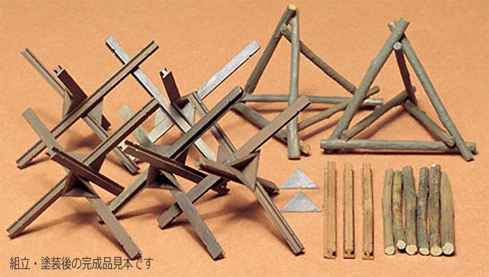 バリケードセットプラモデル(タミヤ1/35 ミリタリーミニチュアシリーズNo.027)商品画像_2