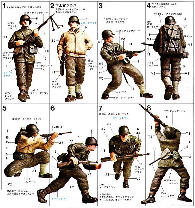 アメリカ歩兵 G・Iセットプラモデル(タミヤ1/35 ミリタリーミニチュアシリーズNo.048)商品画像_1