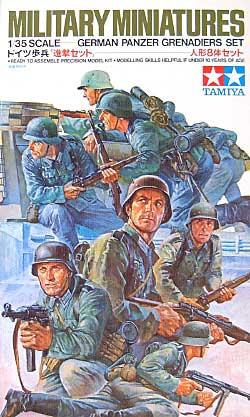 ドイツ歩兵進撃セットプラモデル(タミヤ1/35 ミリタリーミニチュアシリーズNo.061)商品画像