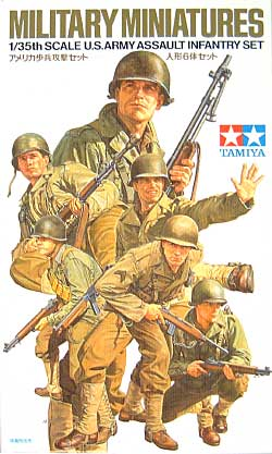 アメリカ歩兵攻撃セットプラモデル(タミヤ1/35 ミリタリーミニチュアシリーズNo.192)商品画像