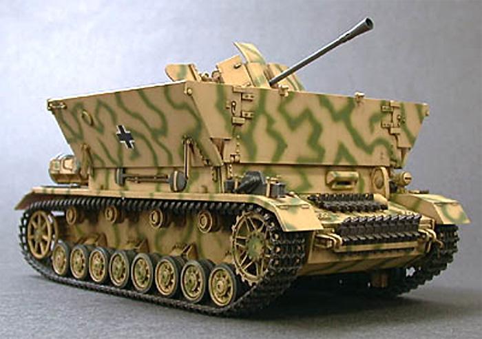 ドイツ 4号対空自走砲 メーベルワーゲン (3.7cmFlak43搭載型)プラモデル(タミヤ1/35 ミリタリーミニチュアシリーズNo.237)商品画像_2