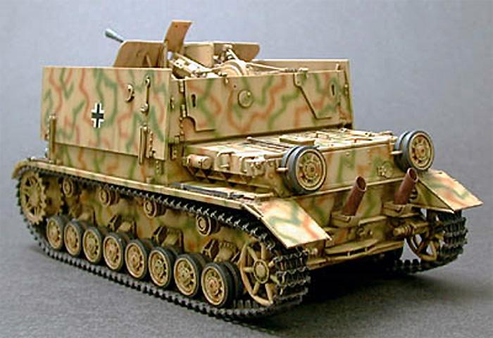 ドイツ 4号対空自走砲 メーベルワーゲン (3.7cmFlak43搭載型)プラモデル(タミヤ1/35 ミリタリーミニチュアシリーズNo.237)商品画像_3