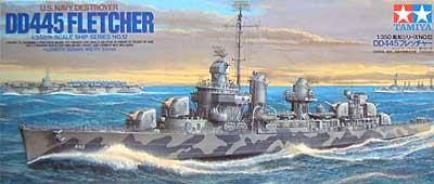 アメリカ海軍駆逐艦 DD445 フレッチャープラモデル(タミヤ1/350 艦船シリーズNo.012)商品画像