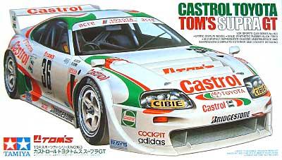 カストロール・トヨタ・トムス スープラ GTプラモデル(タミヤ1/24 スポーツカーシリーズNo.163)商品画像