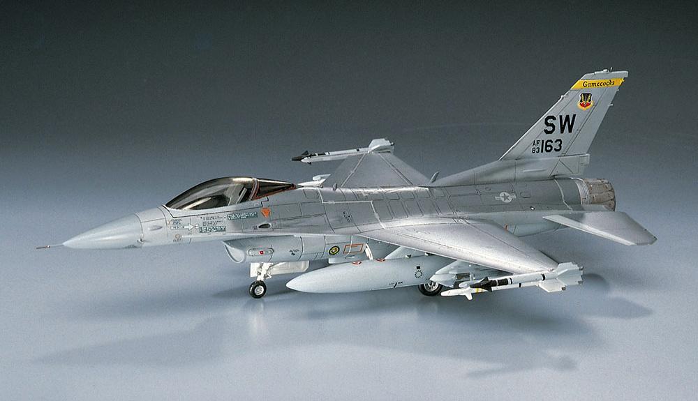 F-16C ファイティングファルコンプラモデル(ハセガワ1/72 飛行機 BシリーズNo.B002)商品画像_2
