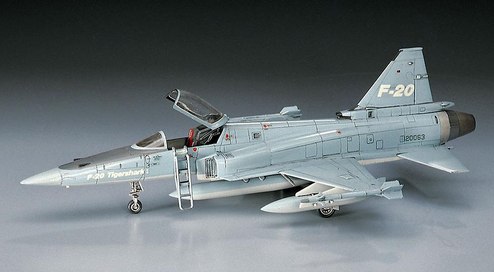 F-20 タイガーシャークプラモデル(ハセガワ1/72 飛行機 BシリーズNo.B003)商品画像_2