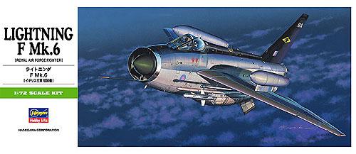 ライトニング F Mk.6 (イギリス空軍戦闘機)プラモデル(ハセガワ1/72 飛行機 BシリーズNo.B015)商品画像