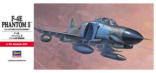 F-4E ファントム 2プラモデル(ハセガワ1/72 飛行機 CシリーズNo.C002)商品画像