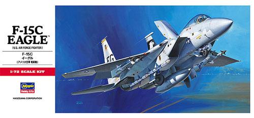 F-15C イーグルプラモデル(ハセガワ1/72 飛行機 CシリーズNo.C006)商品画像