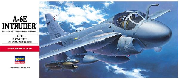 A-6E イントルーダープラモデル(ハセガワ1/72 飛行機 CシリーズNo.C008)商品画像