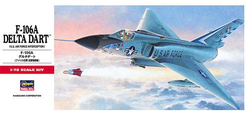 F-106A デルタダートプラモデル(ハセガワ1/72 飛行機 CシリーズNo.C011)商品画像