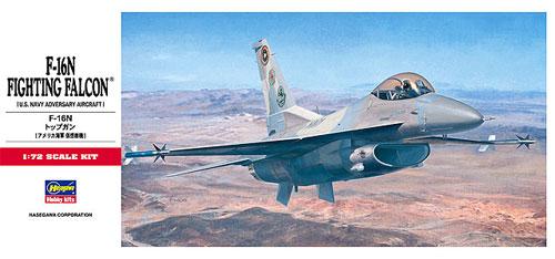 F-16N トップガンプラモデル(ハセガワ1/72 飛行機 CシリーズNo.C012)商品画像