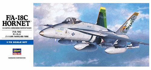 F/A-18C ホーネットプラモデル(ハセガワ1/72 飛行機 DシリーズNo.D008)商品画像