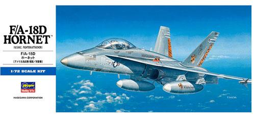 F/A-18D ホーネットプラモデル(ハセガワ1/72 飛行機 DシリーズNo.D009)商品画像