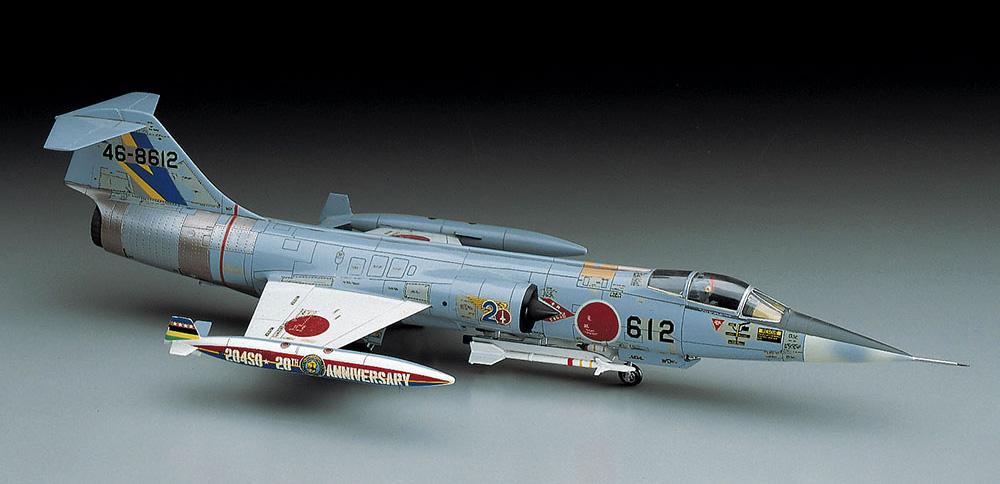 F-104J/CF-104 スターファイタープラモデル(ハセガワ1/72 飛行機 DシリーズNo.D016)商品画像_2