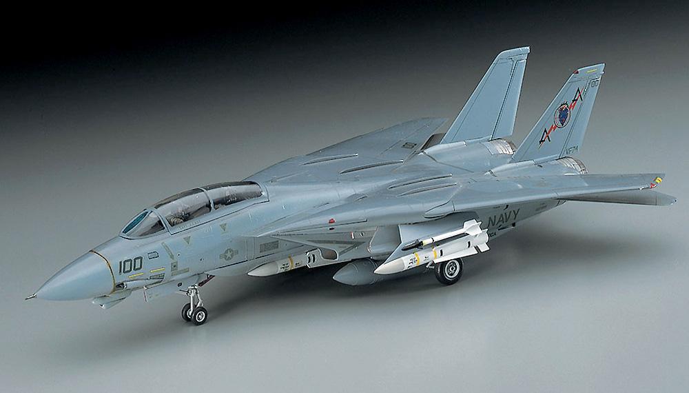 F-14A トムキャット (ロービジ) (アメリカ海軍 艦上戦闘機)プラモデル(ハセガワ1/72 飛行機 EシリーズNo.E002)商品画像_2