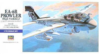 EA-6B プラウラー (ハイビジ)プラモデル(ハセガワ1/72 飛行機 EシリーズNo.E008)商品画像