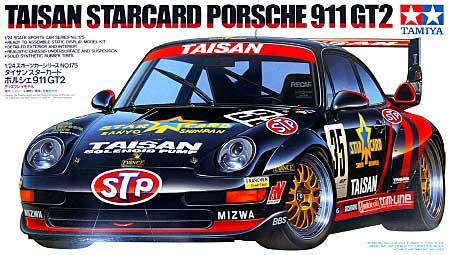 タイサン スターカード ポルシェ 911 GT2プラモデル(タミヤ1/24 スポーツカーシリーズNo.175)商品画像