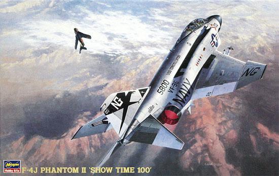 F-4J ファントム 2 ショータイム100 (ワンピースキャノピー入)プラモデル(ハセガワ1/48 飛行機 PTシリーズNo.PT006)商品画像