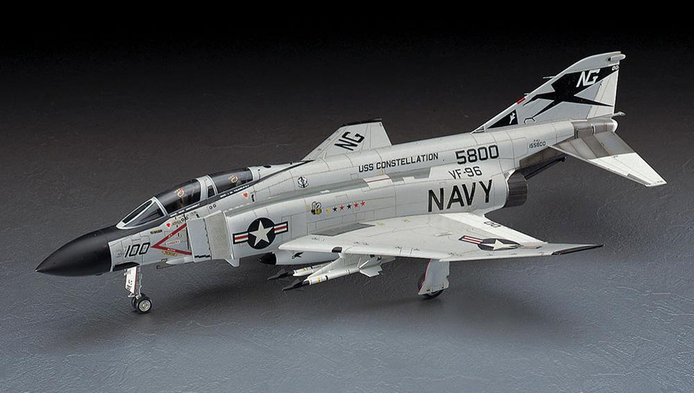 F-4J ファントム 2 ショータイム100 (ワンピースキャノピー入)プラモデル(ハセガワ1/48 飛行機 PTシリーズNo.PT006)商品画像_2