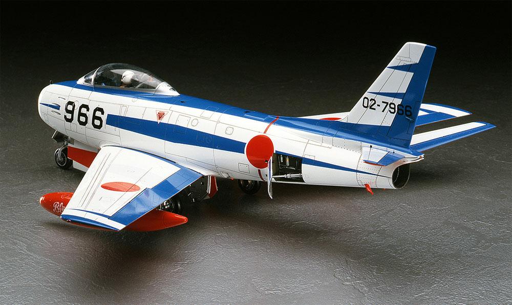 F-86F-40 セイバー ブルーインパルスプラモデル(ハセガワ1/48 飛行機 PTシリーズNo.PT015)商品画像_3