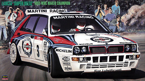 ランチア スーパーデルタ 1992 WRC メイクスチャンピオンプラモデル(ハセガワ1/24 自動車 CRシリーズNo.CR-015)商品画像