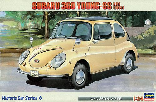 スバル 360 ヤング SS K111 (1968年)プラモデル(ハセガワ1/24 自動車 HCシリーズNo.HC006)商品画像
