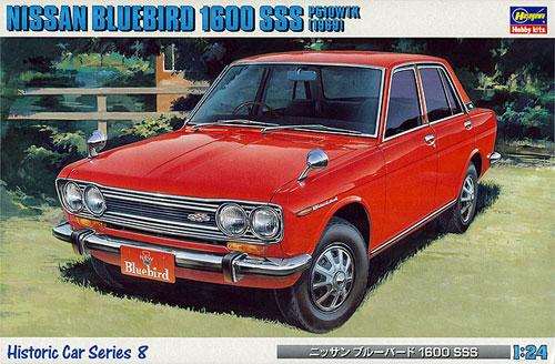 ニッサン ブルーバード 1600 SSS (1969)プラモデル(ハセガワ1/24 自動車 HCシリーズNo.HC008)商品画像