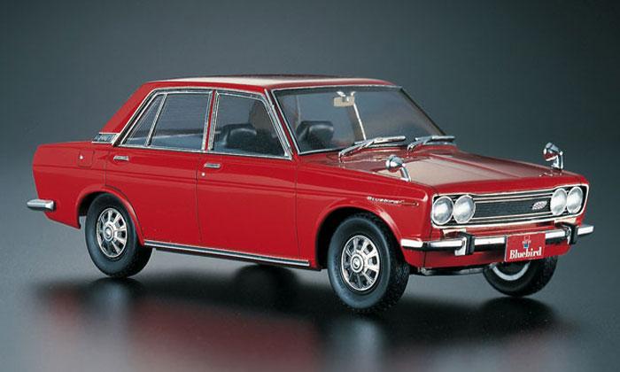ニッサン ブルーバード 1600 SSS (1969)プラモデル(ハセガワ1/24 自動車 HCシリーズNo.HC008)商品画像_3