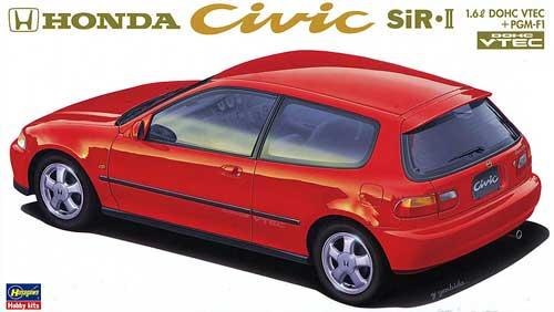 ホンダ シビック SiR 2プラモデル(ハセガワ1/24 自動車 CDシリーズNo.CD006)商品画像