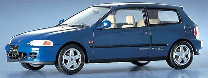 ホンダ シビック SiR 2プラモデル(ハセガワ1/24 自動車 CDシリーズNo.CD006)商品画像_3