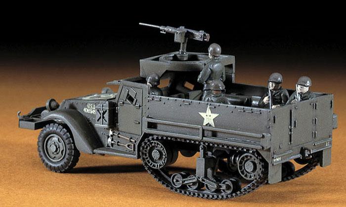 M3A1 ハーフトラックプラモデル(ハセガワ1/72 ミニボックスシリーズNo.MT006)商品画像_3