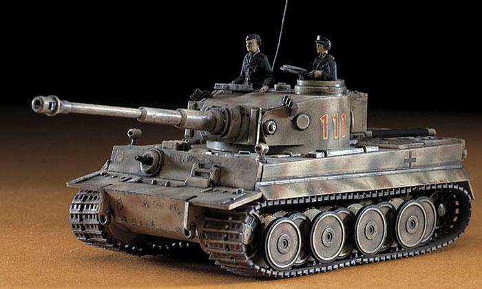 6号戦車 タイガー1型 (Pz.Kpfw.6 ausf.E)プラモデル(ハセガワ1/72 ミニボックスシリーズNo.MT008)商品画像_3