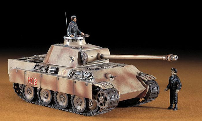 5号戦車 パンサーG型 (Pz.Kpfw.5 ausf.G)プラモデル(ハセガワ1/72 ミニボックスシリーズNo.MT009)商品画像_3