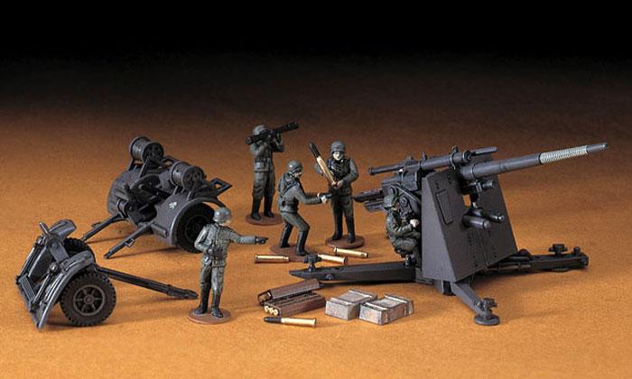 88mm 対空砲 Flak18プラモデル(ハセガワ1/72 ミニボックスシリーズNo.MT010)商品画像_3