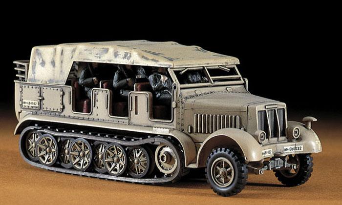 Sd.Kfz.7 8トン ハーフトラックプラモデル(ハセガワ1/72 ミニボックスシリーズNo.MT011)商品画像_3