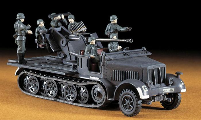 8トンハーフトラック 37mm対空砲プラモデル(ハセガワ1/72 ミニボックスシリーズNo.MT018)商品画像_3